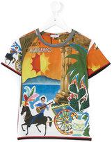 Dolce & Gabbana Agrigento print T-shirt - kids - Cotton - 5 yrs