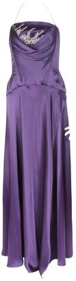 Jacques Fath Purple Dress for Women Vintage
