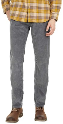 Mountain Khakis Crest Cord Pants Modern Fit (Gunmetal) Men's Clothing