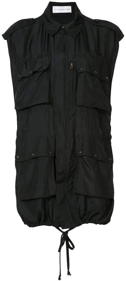Faith Connexion loose fit shirt jacket