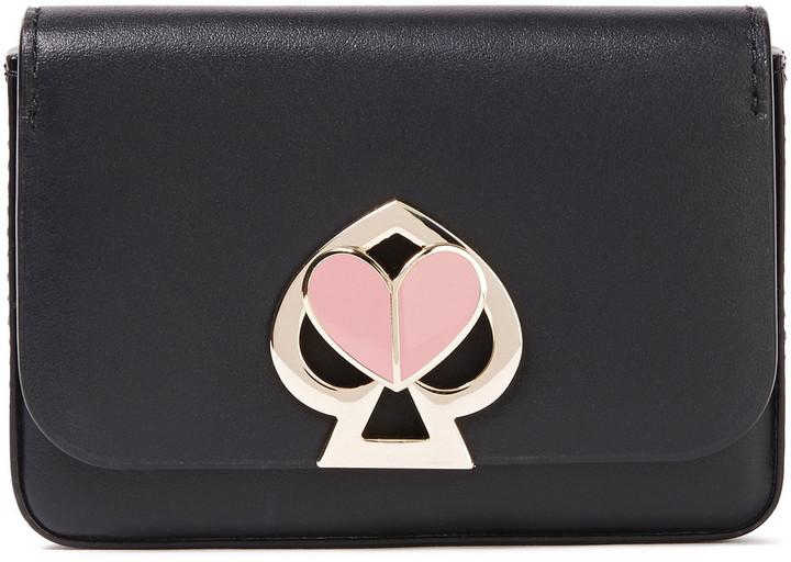 Kate Spade Nicola Twistlock Leather Cardholder