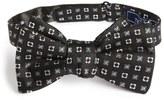 The Tie Bar Steady Bloom Silk Bow Tie
