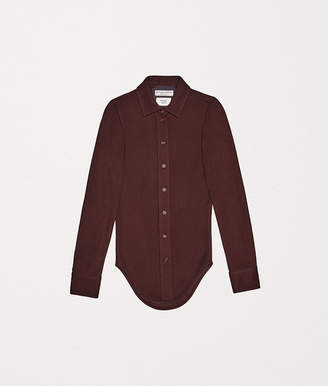 Bottega Veneta SHIRT IN SABLE JERSEY