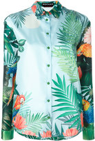 Rochas tropical print shirt - women - Silk - 40