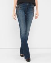 White House Black Market Embellished Bootcut Jeans