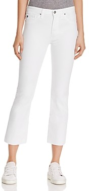 AG Jeans Jodi Crop Jeans in White