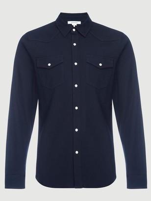 Frame Pique Western Shirt