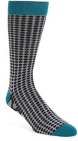 Ted Baker Dot Organic Cotton Blend Socks