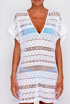 Milly White Crochet Cover Up