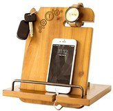 Cathy's Concepts Steampunk Monogram Docking Station - Brown
