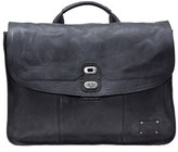 Will Leather Goods Men's 'Kent' Messenger Bag - Black