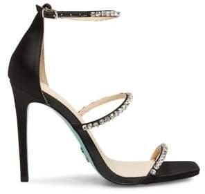 Betsey Johnson Elisa Embellished Heeled Sandals