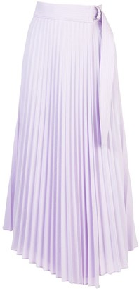 A.L.C. Pleated Asymmetric Skirt