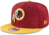 New Era Washington Redskins Summer Suede 9FIFTY Snapback Cap