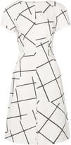 Tomas Maier Printed stretch-cotton dress