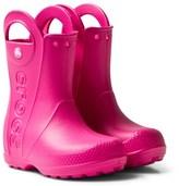Crocs Candy Pink Handle It Rain Boots