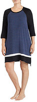 DKNY Plus Geometric Jersey Sleepshirt