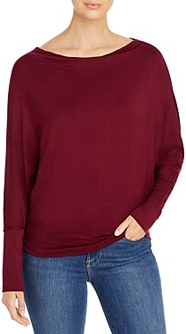 Elan International Convertible Neckline Top