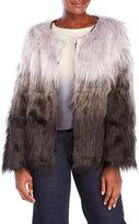Cliche Ombré Faux Fur Jacket