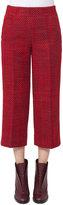 Akris Punto Miami Tweed Culotte Pants