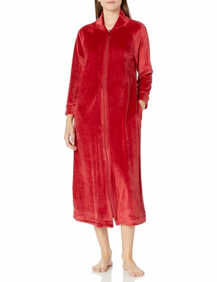 Carole Hochman Women's Long Zip Robe