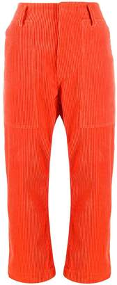 Sofie D'hoore cropped-length ribbed trousers