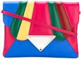 Sara Battaglia 'Tulip' shoulder bag - women - Calf Leather/Polyester - One Size