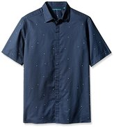 Perry Ellis Men's Big and Tall Exclusive Pin Dot on Oxford Fabric Shirt, Value Not Found