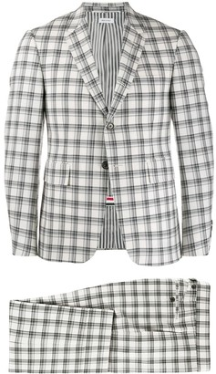 Thom Browne Tattersall check suit