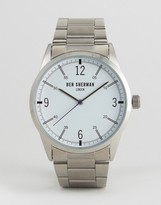 Ben Sherman Bracelet Strap Watch In Silver