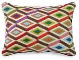 Jonathan Adler Multi Diamonds Bargello Decorative Pillow, 12 x 16