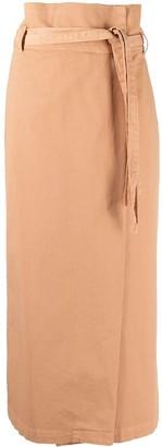 FEDERICA TOSI Tie-Waist Wrap Skirt