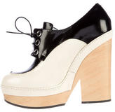 Jil Sander Bicolor Lace-Up Booties w/ Tags