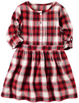 Carter's Plaid Shirt Dress