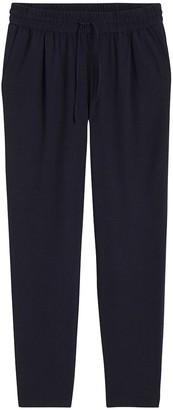 Vero Moda Linen Mix Straight Trousers with Elasticated Waist