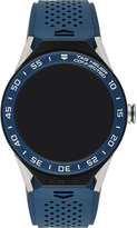 Tag Heuer Quartz black dial blue strap