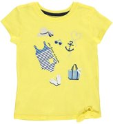 "Nautica Little Girls' Toddler ""The Beach Is Calling"" Top"