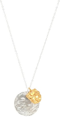 Alighieri La Collisione 24kt gold-plated and sterling silver necklace