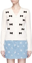 Marc Jacobs Bow embellished wool cardigan