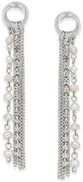 INC International Concepts Silver-Tone Freshwater Pearl Fringe Drop Earrings, Created for Macy's