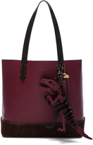 Coach 1941 Gotham Tote with T Rex Charm