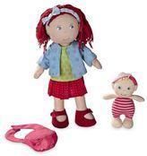 Haba Toys 12-Inch Rubina and Baby Doll