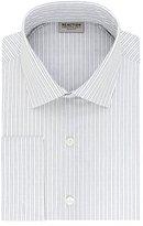 Kenneth Cole Reaction Men's Technicole Slim Fit Stripe Spread Collar Dress Shirt