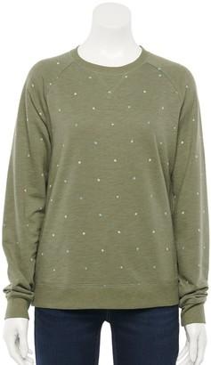 Sonoma Goods For Life Women's Everyday Sweatshirt