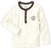 Lucky Brand Toddler Boys) Speckled Knit Raglan Henley