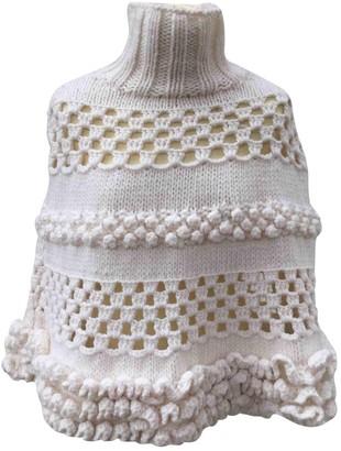 Miu Miu White Wool Jacket for Women