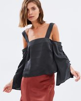 MinkPink Uten Off-Shoulder Top