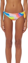 Mara Hoffman Tie Side Brazilian Bikini Bottom