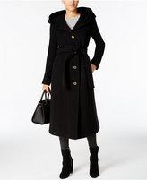 MICHAEL Michael Kors Hooded Wool-Cashmere-Blend Maxi Coat