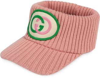 Gucci Logo Knitted Visor
